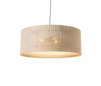 Graypants D9 Drum pendant light whitewash Ø83x32cm