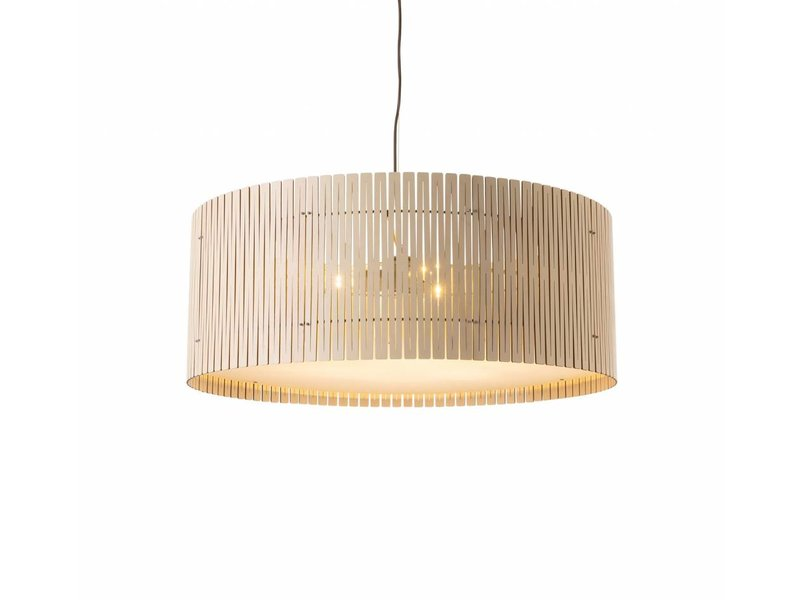 Graypants D9 Drum hanglamp whitewash Ø83x32cm