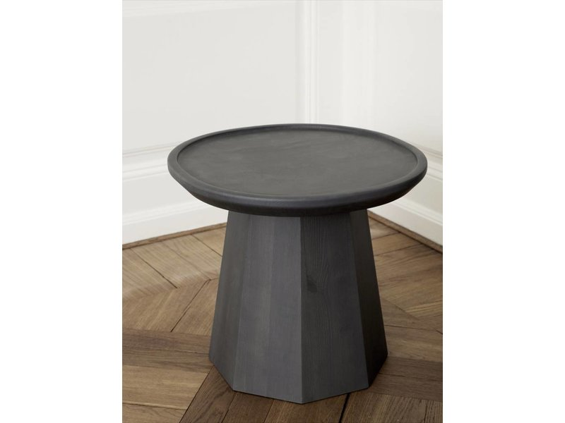 Normann Copenhagen Pine Small table dark gray