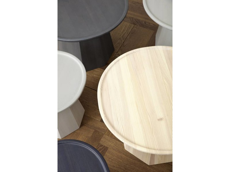Normann Copenhagen Pine Small table light gray