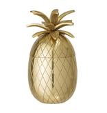 Bloomingville Ijsemmer ananas goud Ø13xH24 cm