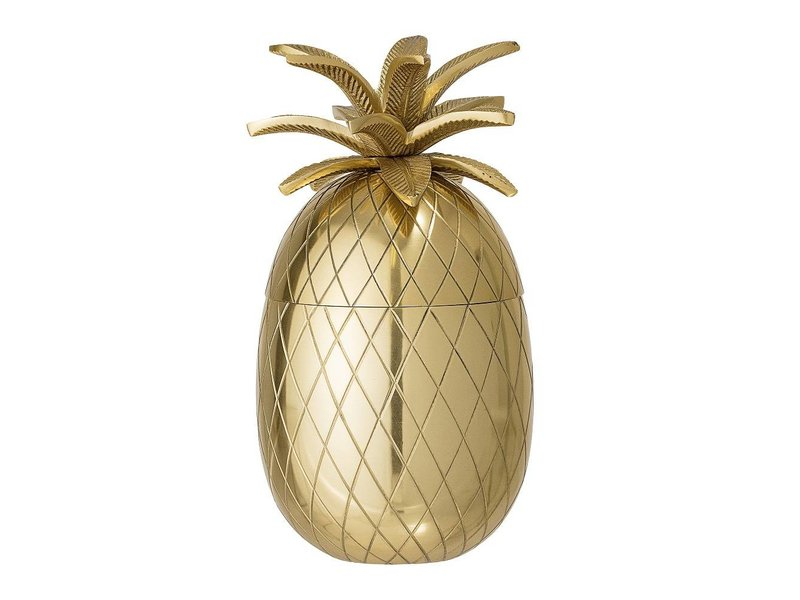 Bloomingville Pineapple isspand guld Ø13xH24 cm