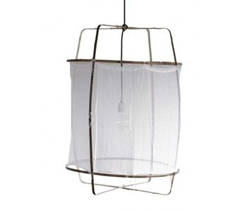 Ay Illuminate Hanglamp Z1 wit katoen ø67x100cm