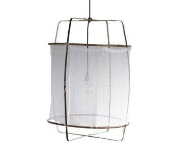 Ay Illuminate Lámpara de techo Z1 ø67x100cm algodón blanco