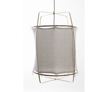 Ay Illuminate Hanging lamp Z1 gray cotton ø67x100cm