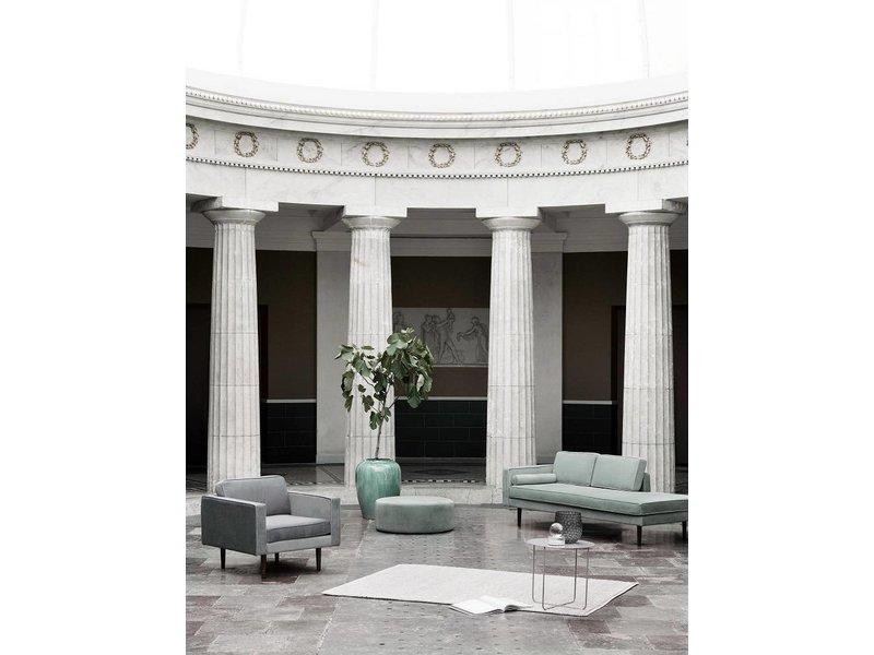 Broste Copenhagen Chaise Lounge grüne Bank