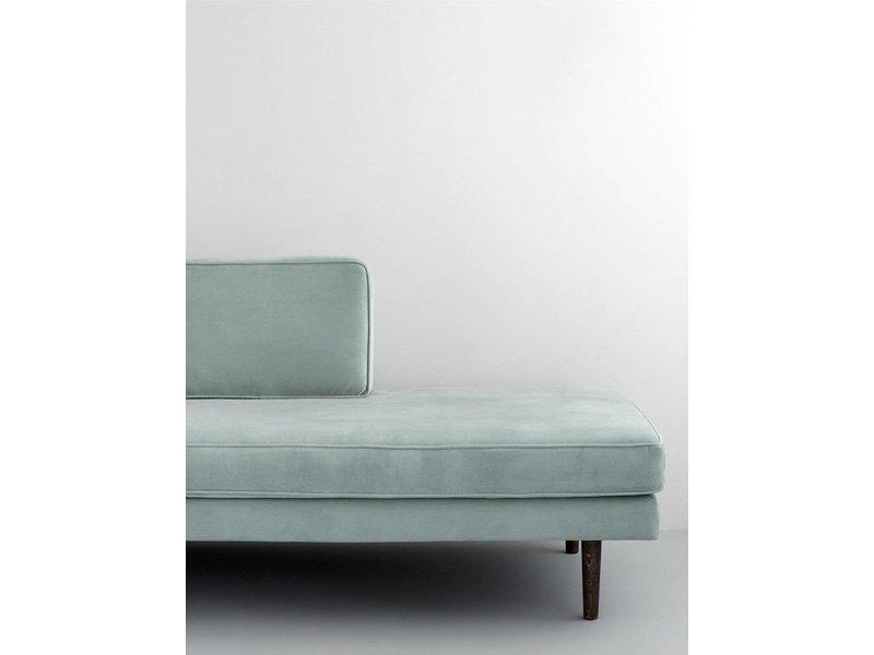 Broste Copenhagen Chaise lounge grøn bænk
