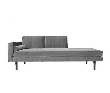 Broste Copenhagen Chaise Lounge divano grigio