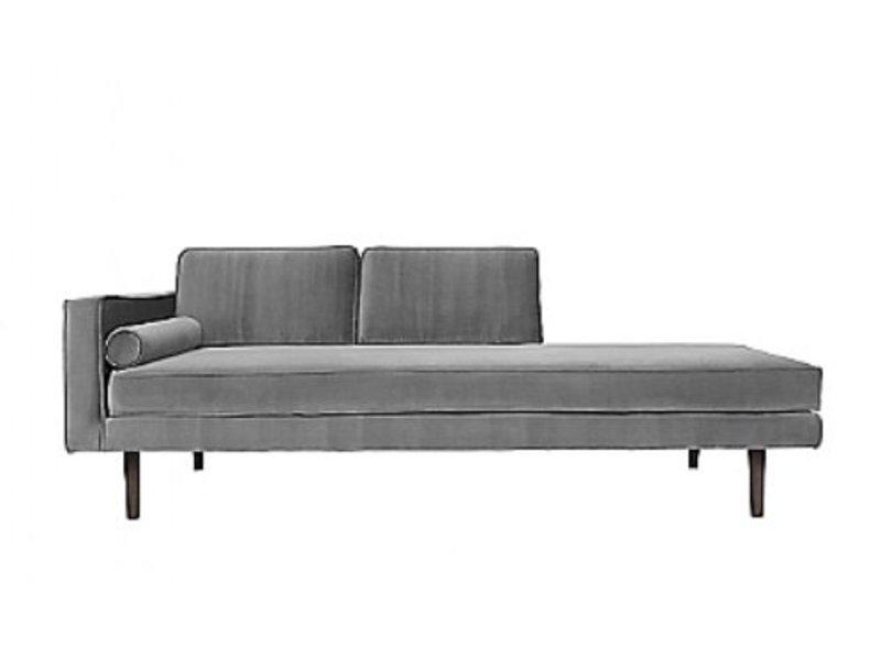 Broste Copenhagen Chaise Lounge soffa grå