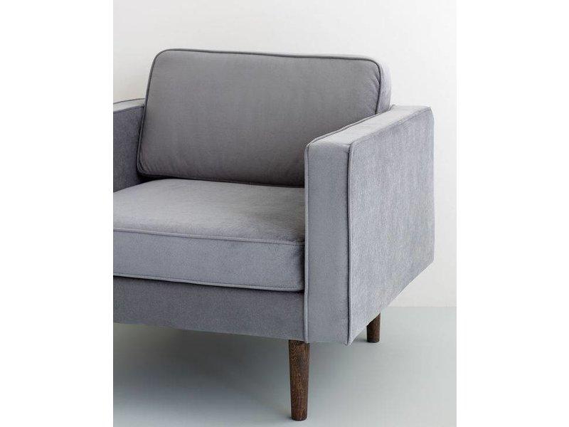 Broste Copenhagen Vind lænestol grå