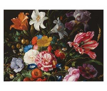 KEK Amsterdam carta da parati floreale Golden Age Flowers 6