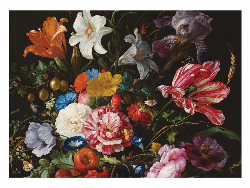 KEK Amsterdam Golden Age Flowers 6 bloemen behang