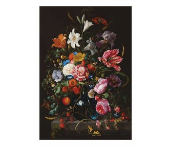 KEK Amsterdam Golden Age Flowers 5 floral wallpaper
