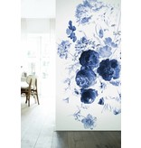 KEK Amsterdam Royal Blue Flowers I bloemen behang