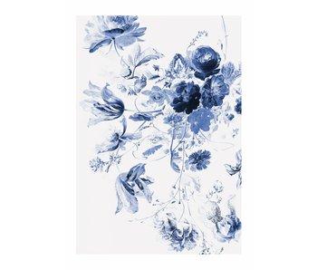 KEK Amsterdam Royal Blue Flowers III floral wallpaper