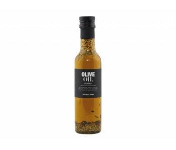 Nicolas Vahé l'huile d'olive au fenouil