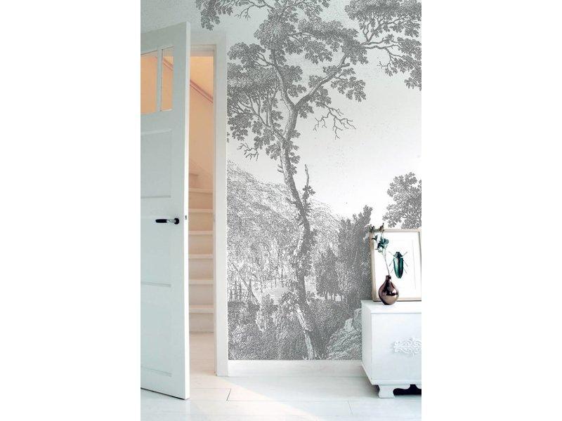 KEK Amsterdam Engraved Landscapes behang