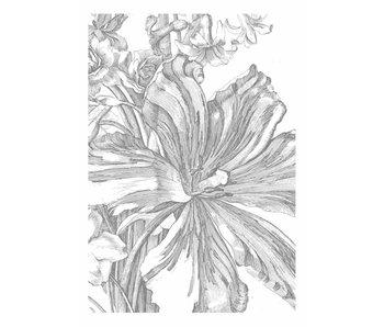 KEK Amsterdam Papier peint fleurs