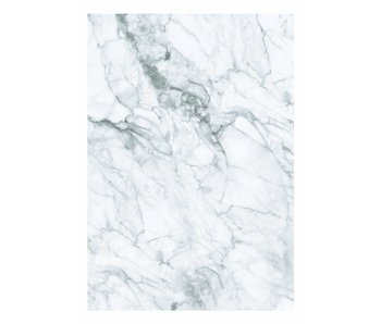 KEK Amsterdam Marble wallpaper white gray