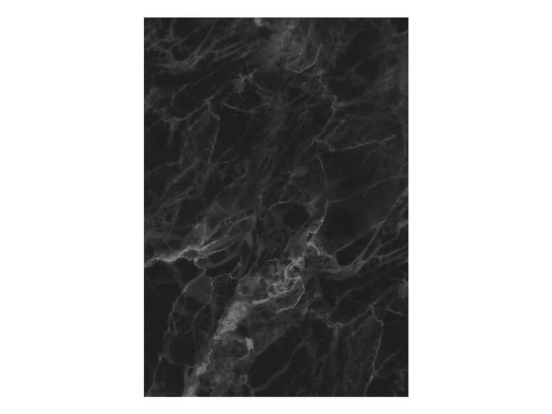 Marble Wallpaper Black Gray