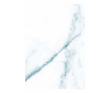 KEK Amsterdam Papier peint en marbre blanc bleu