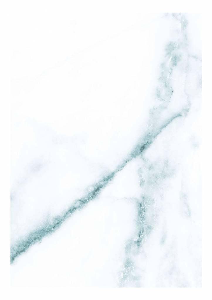 Kek Amsterdam Marble Wallpaper White Blue Living And Co