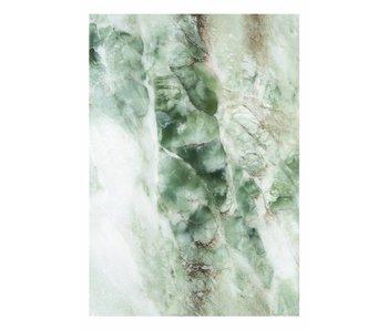 KEK Amsterdam Marmor Tapete grün