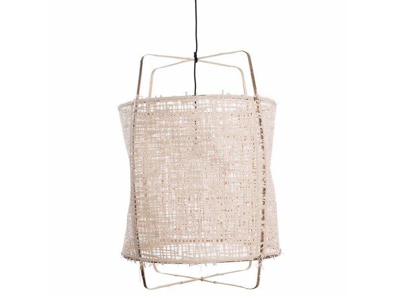 Ay Illuminate Hængelampe Z1 bambus naturlige karton ø67x100cm