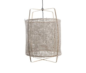 Ay Illuminate Suspension Z1 bambou gris carton ø67x100cm