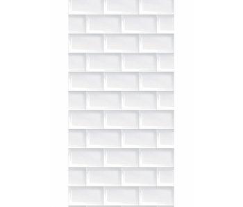 KEK Amsterdam Papier peint Subway tiles