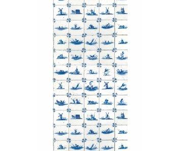 KEK Amsterdam Fondo de pantalla de Royal Blue Tiles