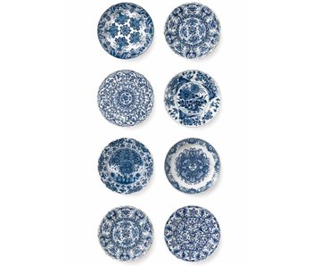 KEK Amsterdam Royal Blue Plates behang