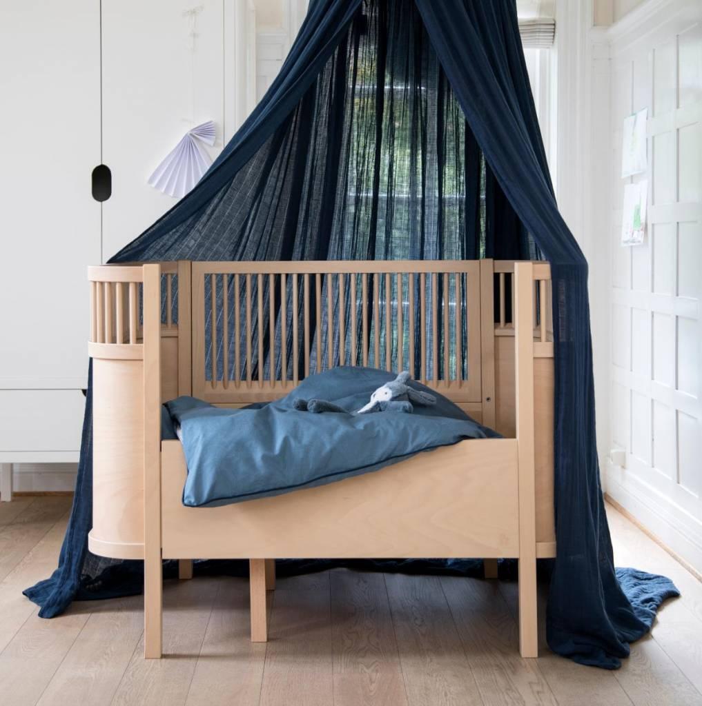 Sebra bed bedstead wood - LIVING AND CO.