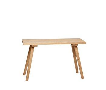 Hubsch Panchina in legno di quercia