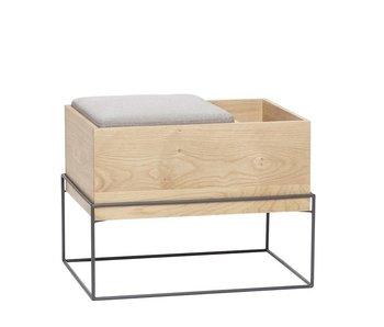 Hubsch Sofá con compartimento de almacenamiento