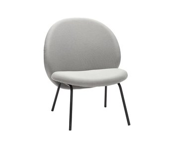 Hubsch Lounge chair gray metal