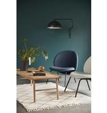 Hubsch Lounge stol blå metal