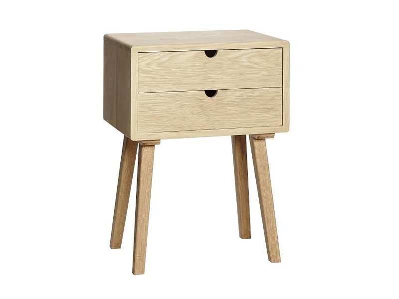 Hübsch mobile in legno con cassetti - LIVING AND CO.