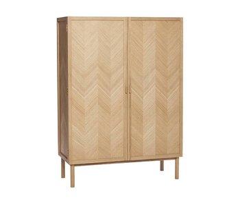 Hubsch Wooden cabinet with doors