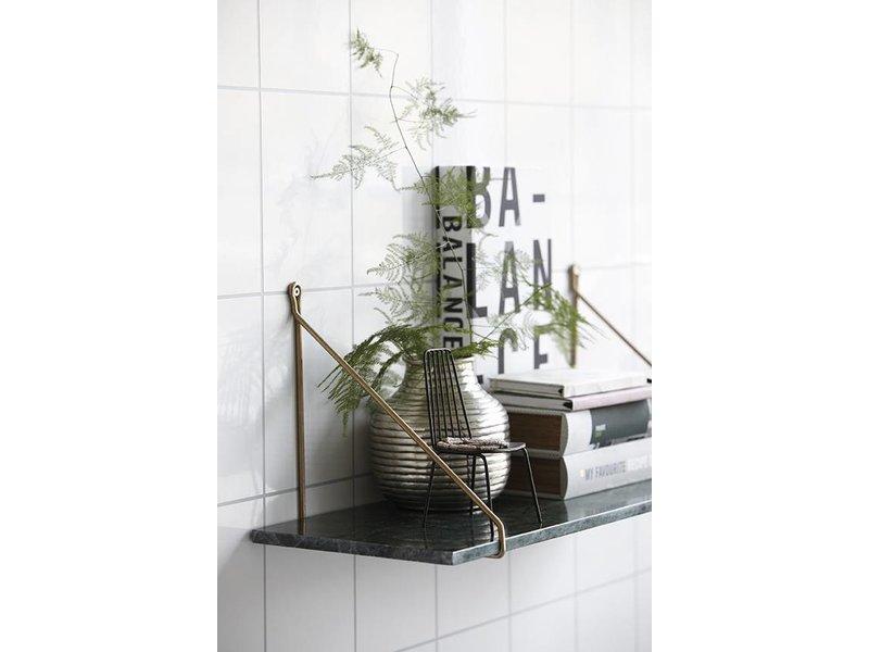 House Doctor Apart wandplank groen marmer