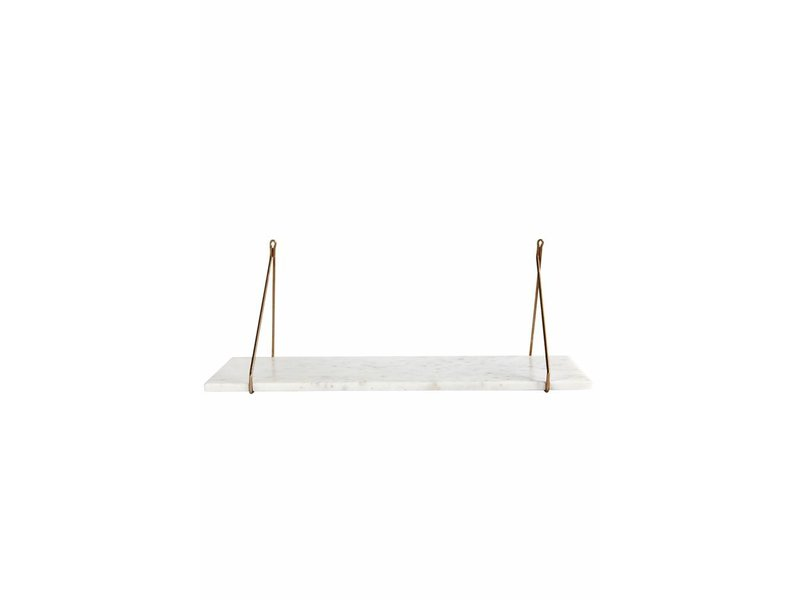 House Doctor Separate wall shelf marble