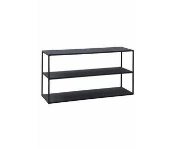 House Doctor Modell C stativ kabinett jern svart