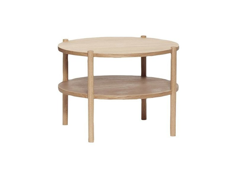 Hubsch Round Side Table Wood Living And Co