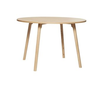 Hubsch Dining table wood around