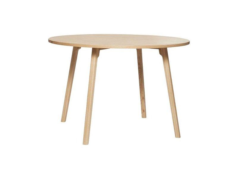 Højmoderne Hübsch rundt spisebord træ - LIVING AND CO. QX-53