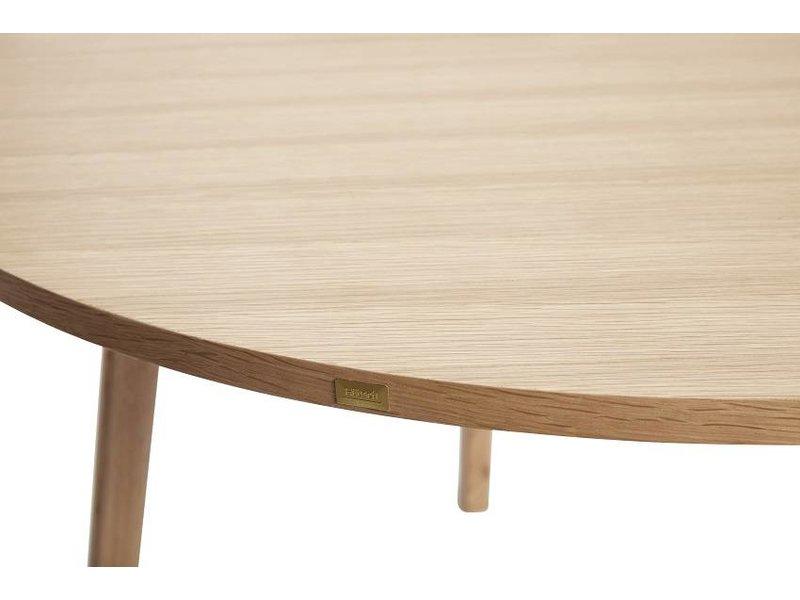 Hubsch Eetkamertafel hout rond