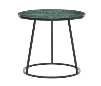 Hubsch Side table green marble