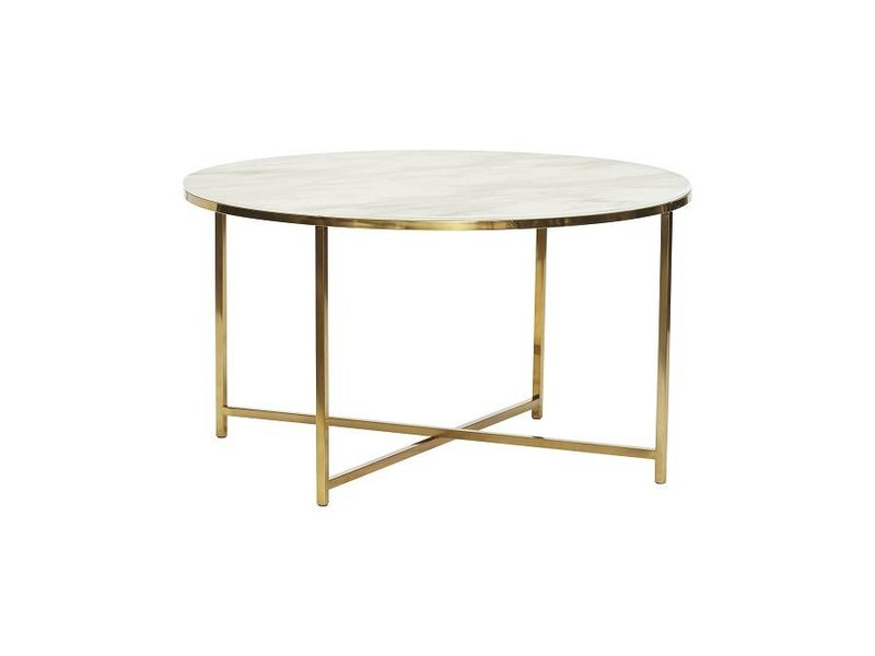 Tavolino Da Salotto In Marmo.Tavolino Hubsch In Marmo Bianco Living And Co