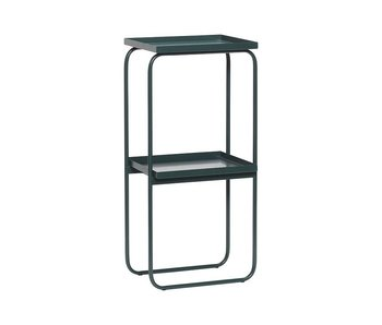 Hubsch Side table green metal