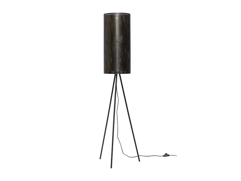 Hubsch Vloerlamp zwart metaal